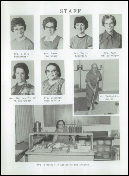 1971 Ft. Wayne Christian High School Yearbook Page 8