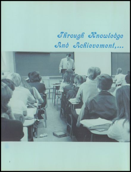 1973 Wayne Memorial High School Yearbook Page 6