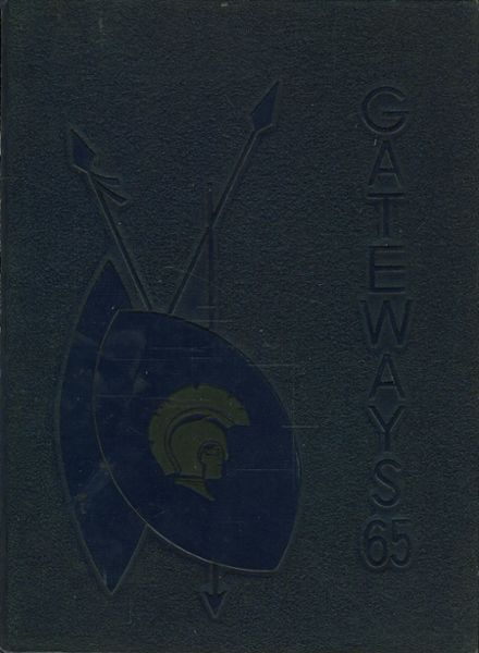 1965 Gates Chili High School Yearbook Cover