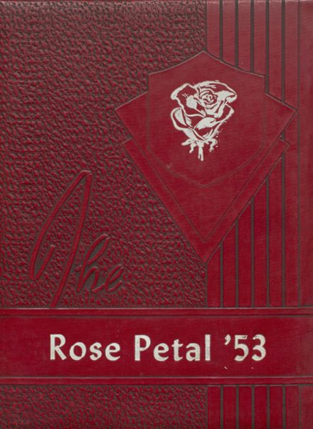 1953 Glen Rose High School Yearbook Cover