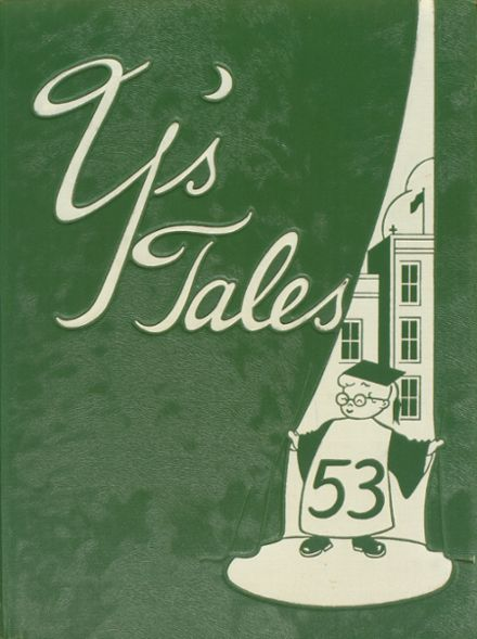 1953 York Community High School Yearbook Cover