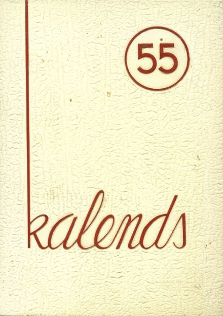 1955 Delaware Academy Yearbook Cover