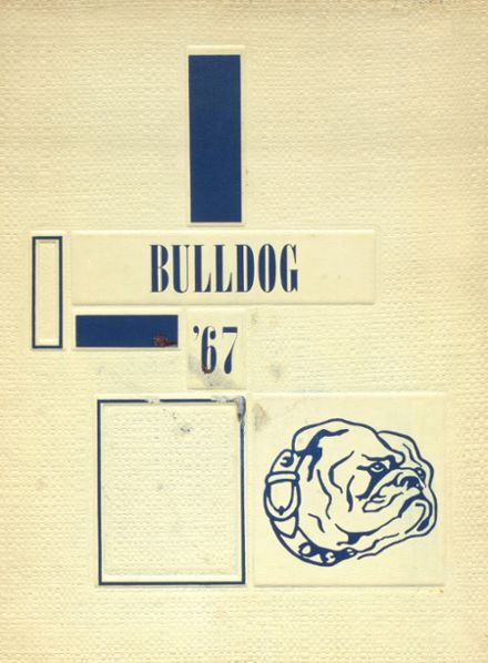 1967 Rockland High School Yearbook Cover