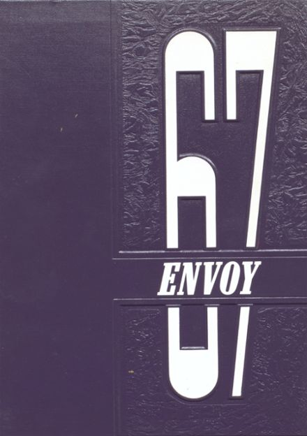 1967 L'Anse High School Yearbook Cover