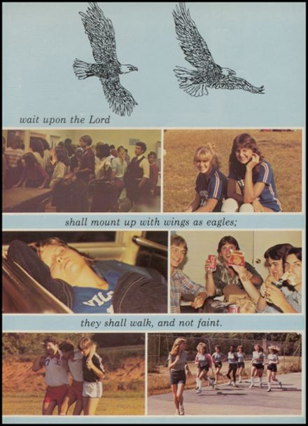 1982 Camp Springs Christian School Yearbook Page 7