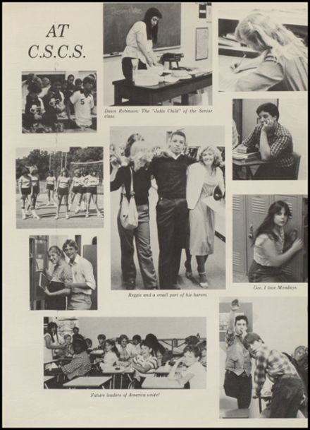 1982 Camp Springs Christian School Yearbook Page 9