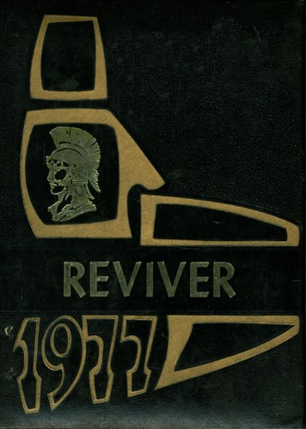 1977 Somerset High School Yearbook Cover