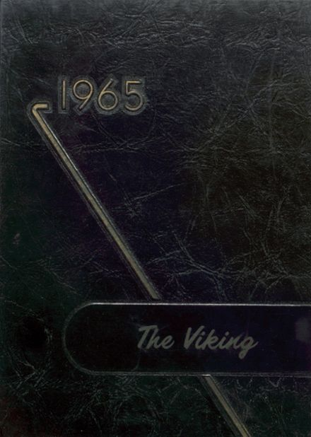 1965 Tri County High School Yearbook Cover