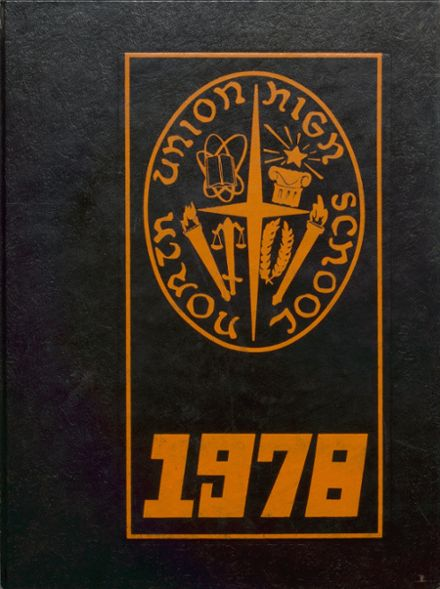 1978 North Union High School Yearbook Cover