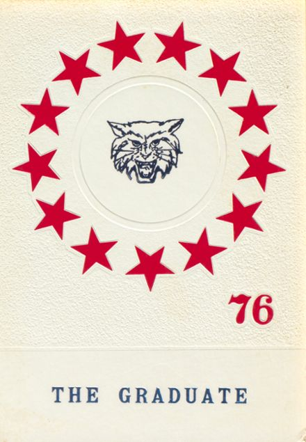 1976 Blanchester High School Yearbook Cover