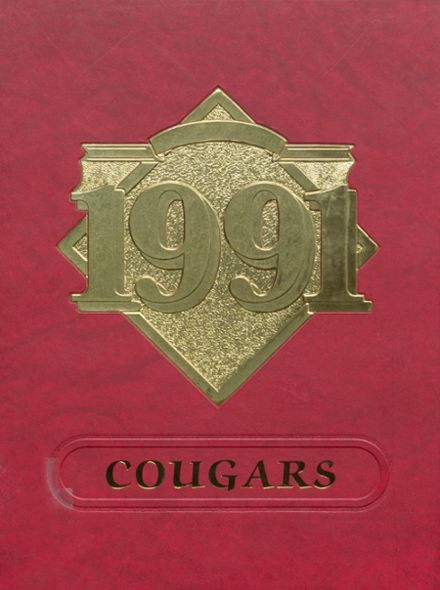 1991 Charleroi High School Yearbook Cover