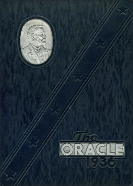 1936 Lanier High School Yearbook Cover