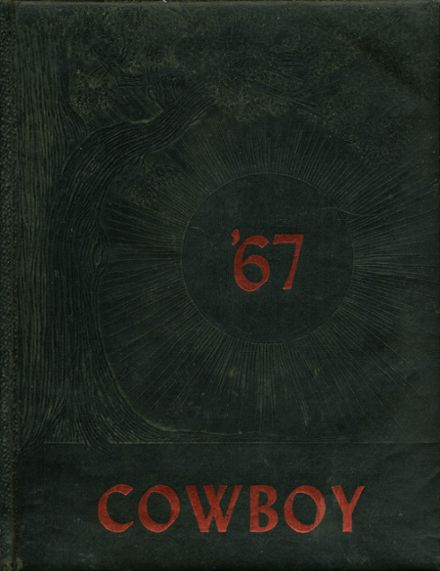 1967 Cliff Consolidated High School Yearbook Cover