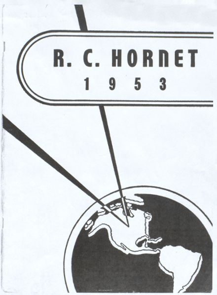 1953 Richland Center High School Yearbook Page 1