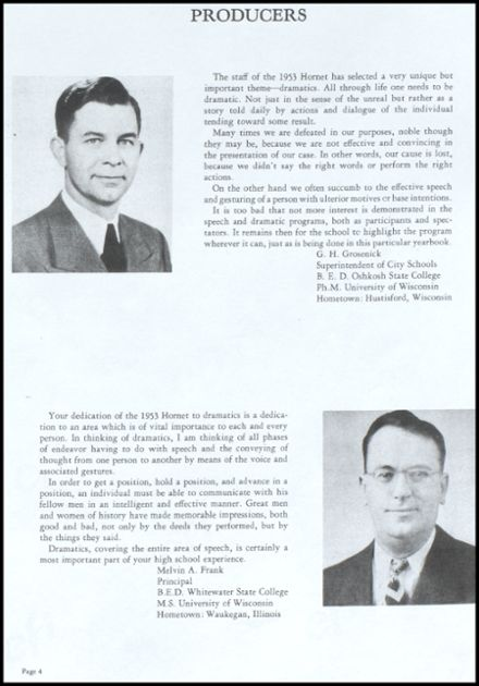 1953 Richland Center High School Yearbook Page 5