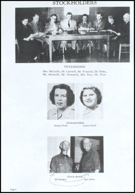 1953 Richland Center High School Yearbook Page 9