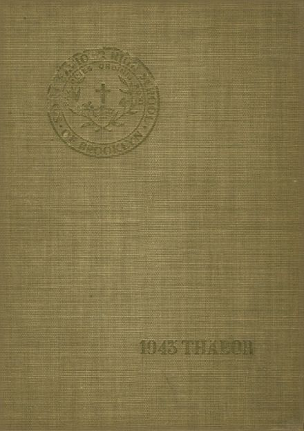 1943 St. Saviour High School Yearbook Cover