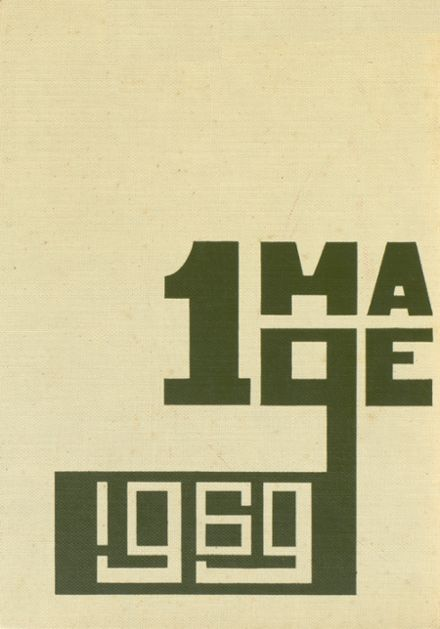 1969 Lincoln Central High School Yearbook Cover