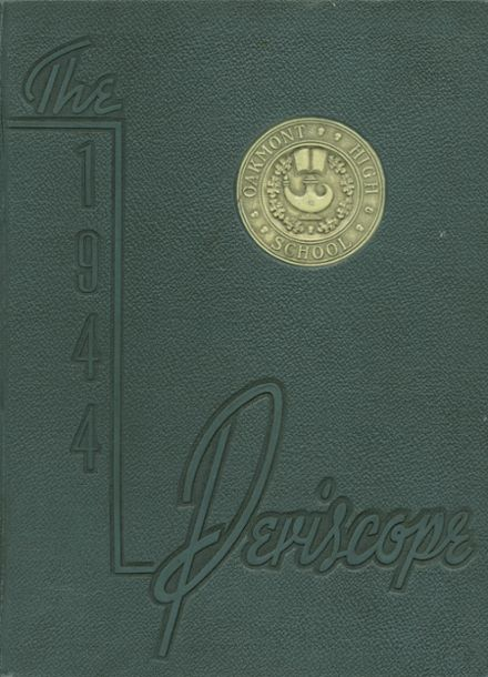 1944 Oakmont High School Yearbook Cover