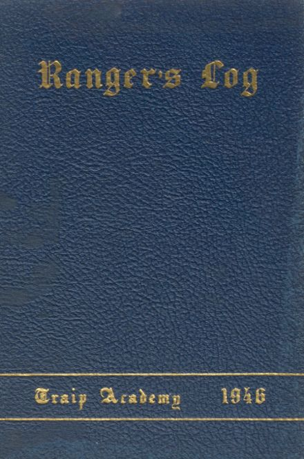 1946 Traip Academy Yearbook Cover