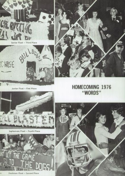 1977 Randolph High School Yearbook Page 8