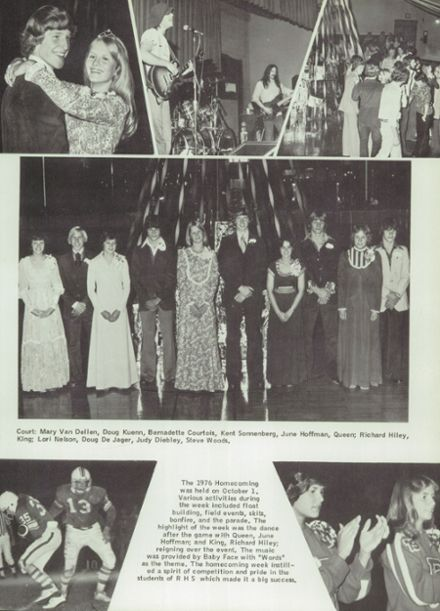 1977 Randolph High School Yearbook Page 9