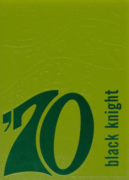 1970 Huntley High School Yearbook Cover