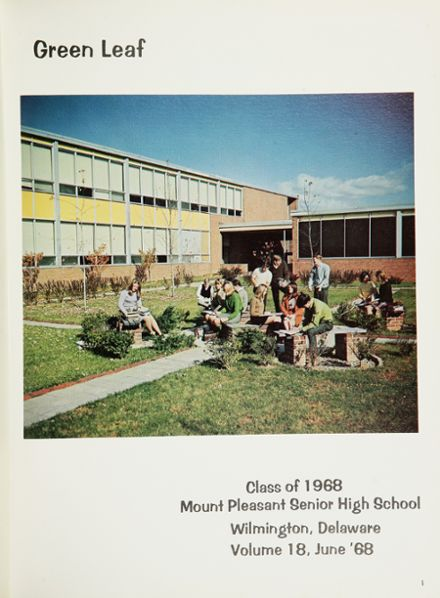 1968 Mt. Pleasant High School Yearbook Page 5