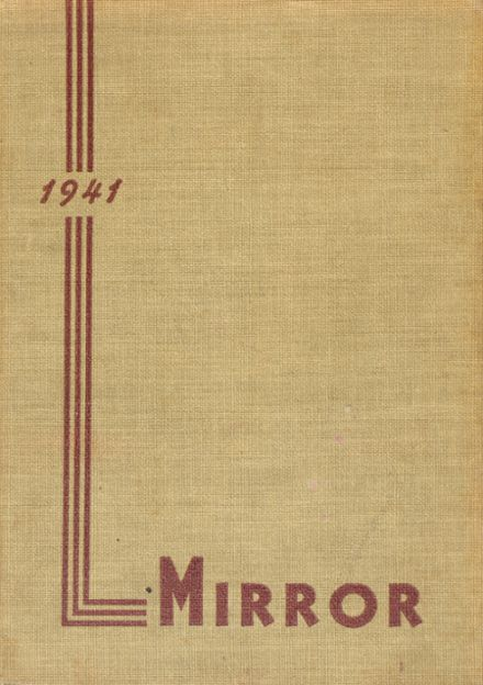1941 North Shore Country Day School Yearbook Cover