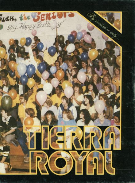 1982 Cabrillo High School Yearbook Cover