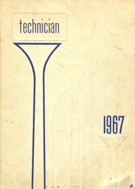 1967 Technical High School Yearbook Cover