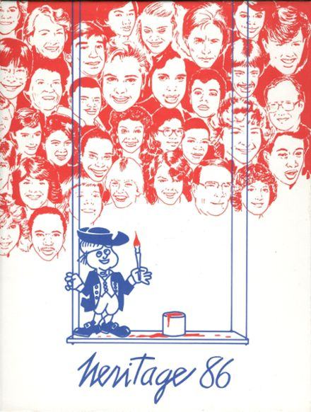 1986 Nathan Hale High School Yearbook Cover