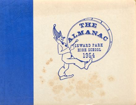 1954 Seward Park High School Yearbook Cover