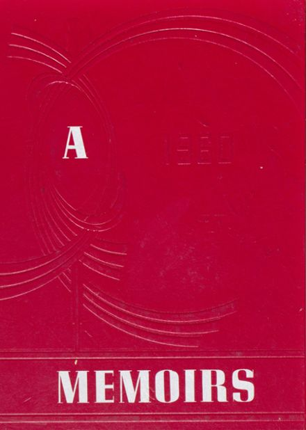 1960 Arcola High School Yearbook Cover