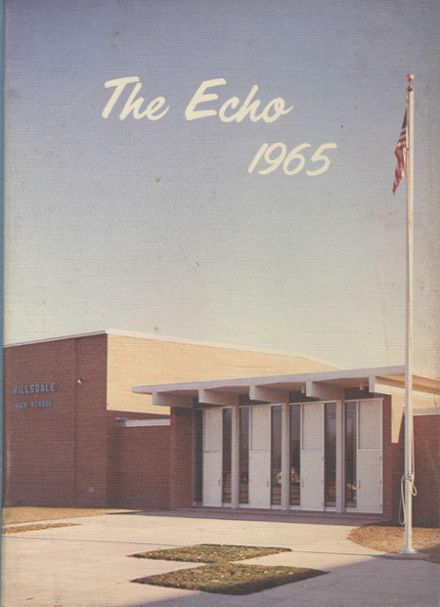 1965 Hillsdale High School Yearbook Cover