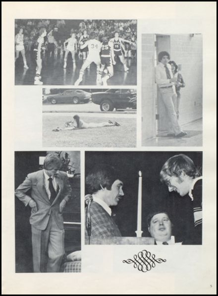 1977 Leipsic High School Yearbook Page 9