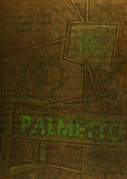 1958 Rayville High School Yearbook Cover