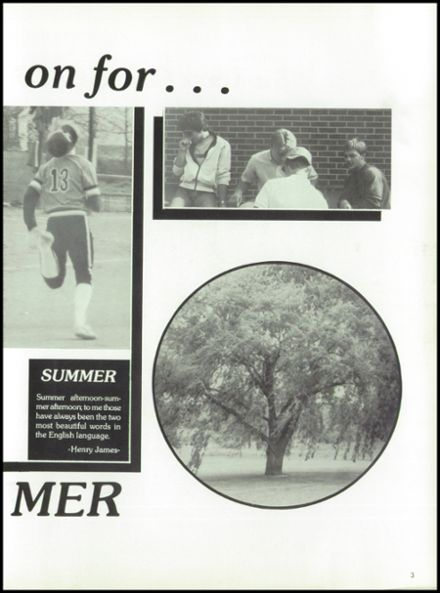 1985 West Liberty-Salem High School Yearbook Page 7