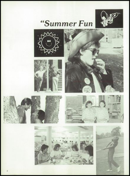 1985 West Liberty-Salem High School Yearbook Page 8