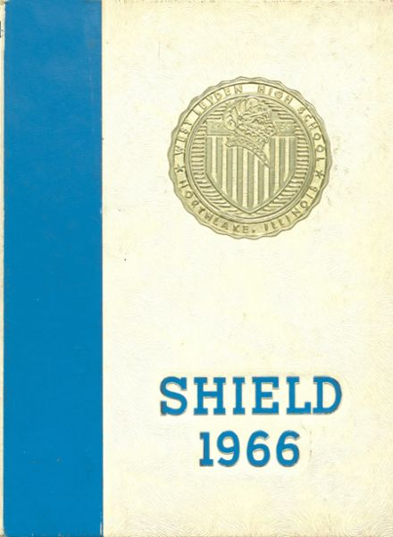 1966 West Leyden High School Yearbook Cover