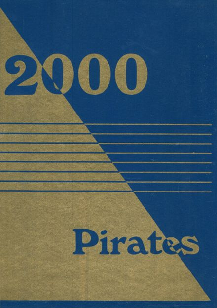2000 Priddy High School Yearbook Cover
