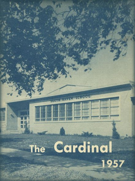 1957 South Haven High School Yearbook Cover
