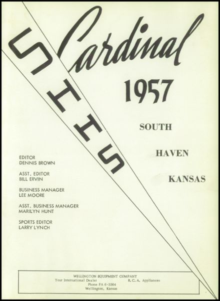 1957 South Haven High School Yearbook Page 7
