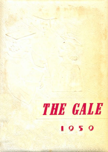 1959 Greensboro High School Yearbook Cover