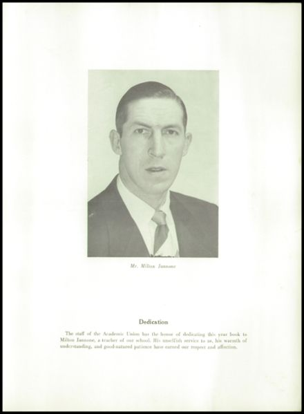 1954 Waterville High School Yearbook Page 5