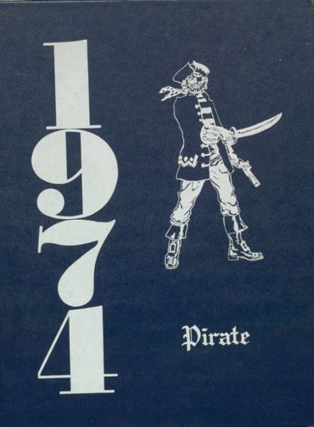 1974 Cyril High School Yearbook Cover