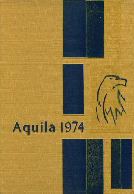 1974 Trinity Heights Christian Academy Yearbook Cover
