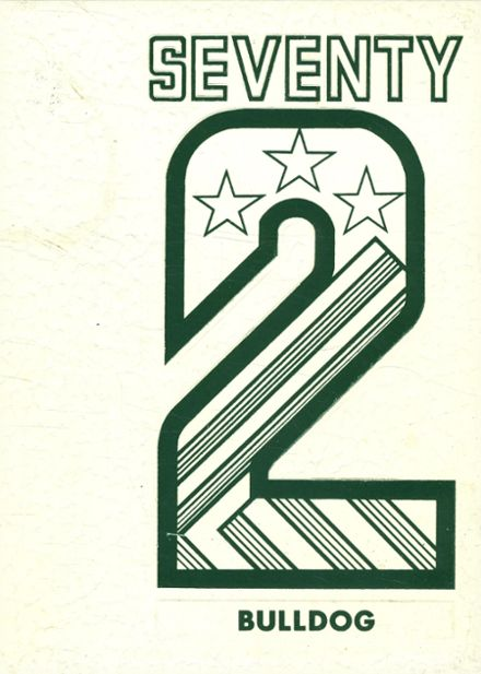 1972 Burnet High School Yearbook Cover