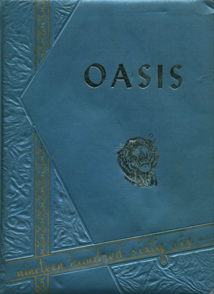 1966 Imperial High School Yearbook Cover