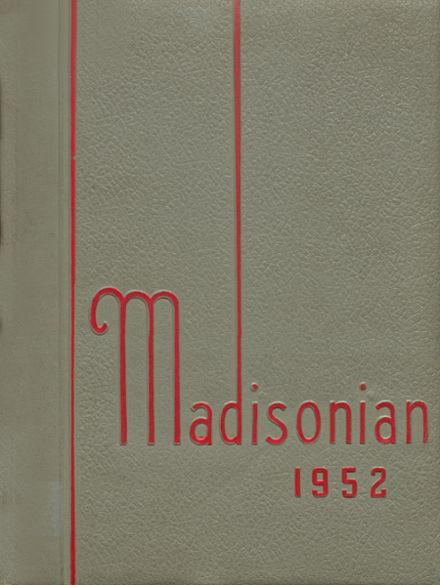 1952 Ft. Madison High School Yearbook Page 1